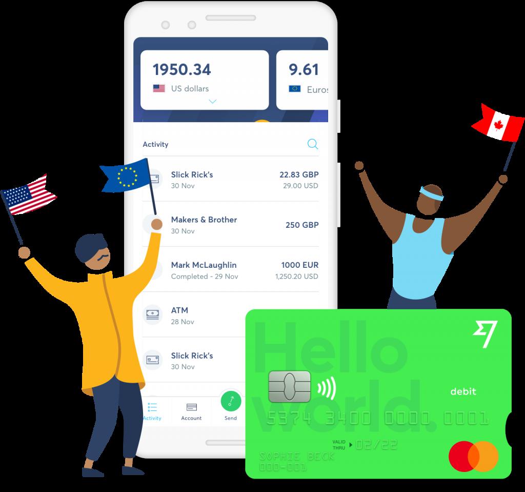 Conto Transferwise | App Transferwise