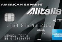 Anteprima della Carta Alitalia Platino American Express