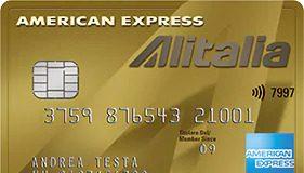 Anteprima Carta Alitalia Oro Amex
