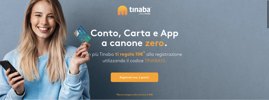 Anteprima del sito Tinaba