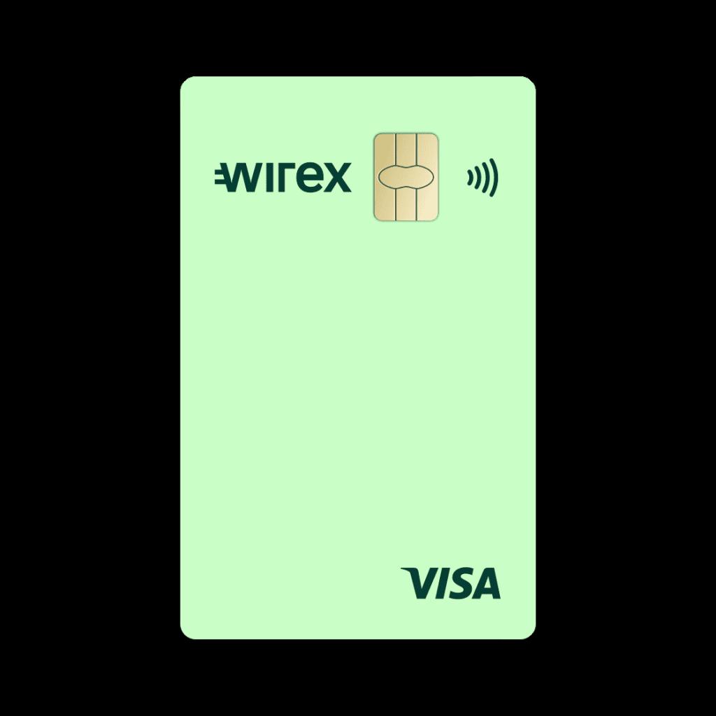 Carta di credito Wirex | Anteprima carta