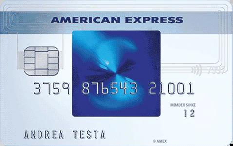 La carta di credito American Express Blu | Carte di Credito American Express