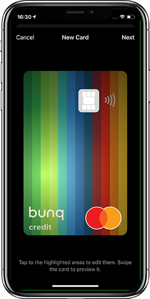 Anteprima dell'App Bunq Travel | Conto Bunq Travel