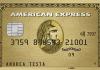 La carta di credito American Express Oro | Carte di Credito American Express