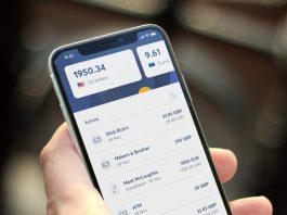 Anteprima dell'app del conto Transferwise | Carta di credito senza conto corrente