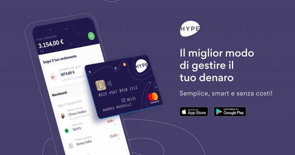 carta hype premium limiti e costi