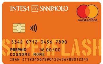 carta di credito prepagata superflash