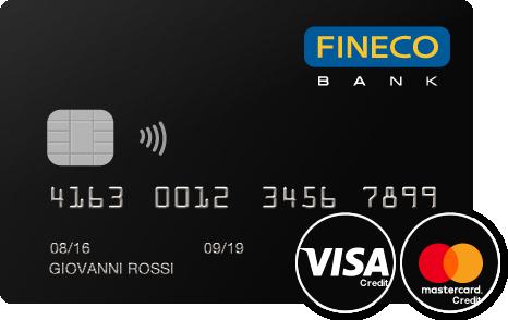 carta di credito fineco visa mastercard
