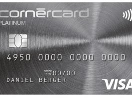 Cornercard Platinum